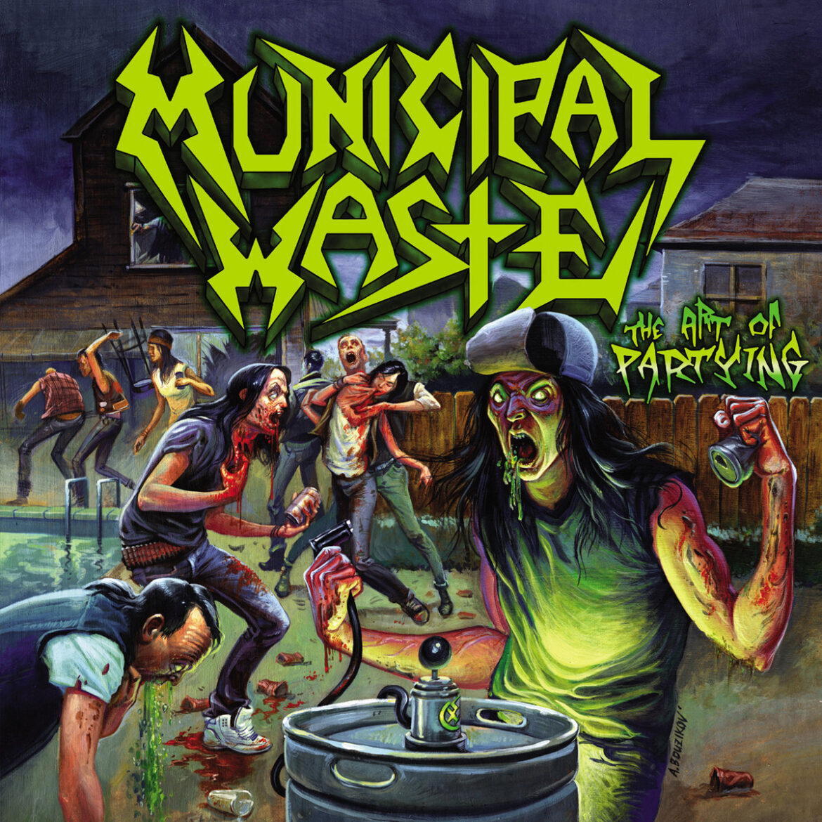An Interview With Ryan Waste of Municipal Waste!