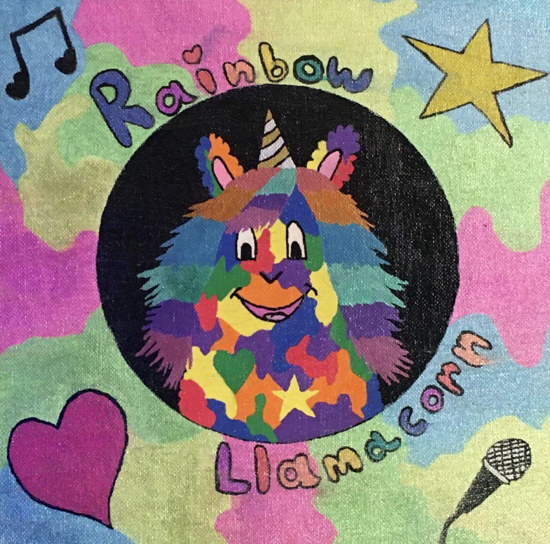 The one, the only, Rainbow Llamacorn!
