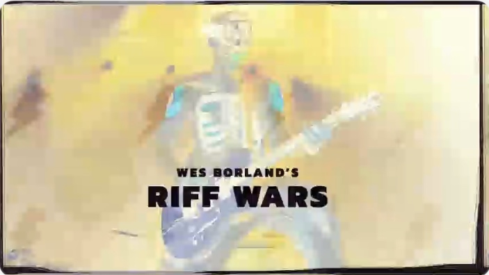 That Space Zebra Show: Riff Wars with Wes Borland!-Wes Battles It Out Against 2 competitors, Special Guest Daddy Mike & More!