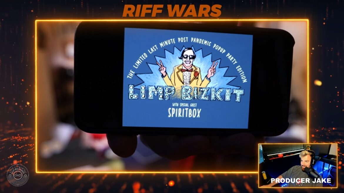 WES BORLAND CONFIRMS FRED DURST IS TRACKING VOCALS FOR NEW LIMP BIZKIT ALBUM AND PLAYS NEWLY RECORDED RIFFS LIVE ON TWITCH.TV/DWPRESENTS SPACE ZEBRA: RIFF WARS!